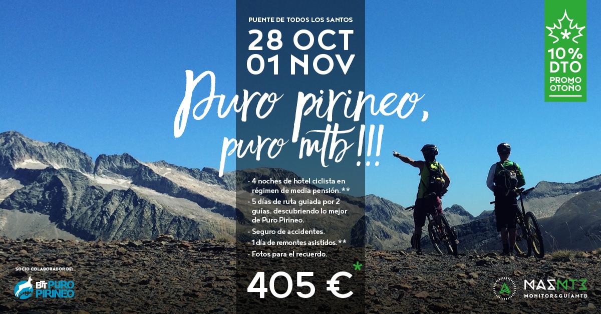 Nos vamos de puente a Puro Pirineo!
