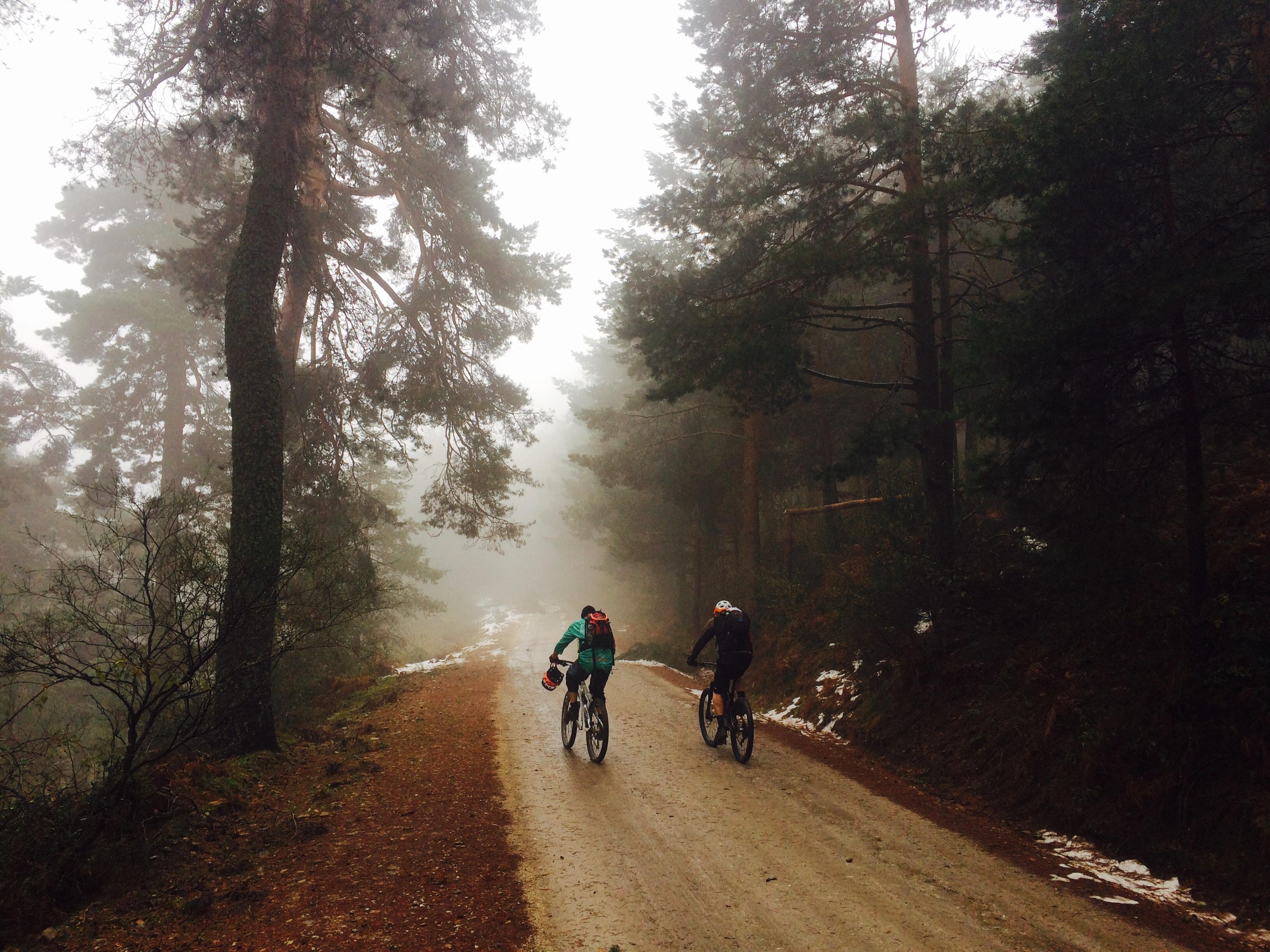 Niebla, frío, agua...