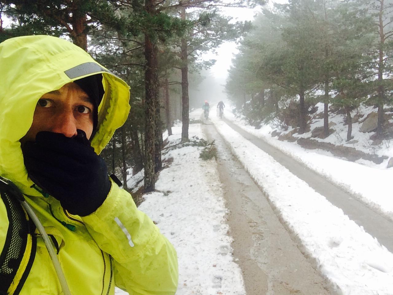 Combatiendo el frío con la chaqueta MT500, de Endura.